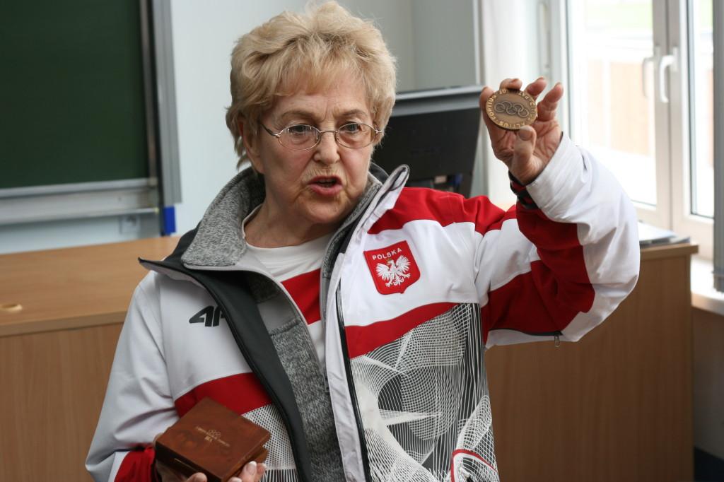 Helena Pilejczyk. Fot. PWSZ Elbląg