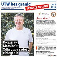 """Drugi numer """"UTW BEZ GRANIC: seniorzy na start!"""" już wkrótce!"""