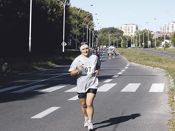 2003.08. Bieg etapowy 100  km  Zamosc