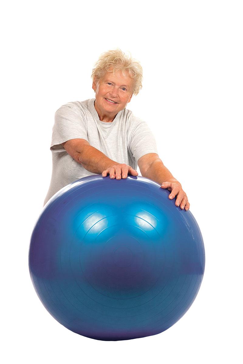 Bądź aktywny i ćwicz z piłką
