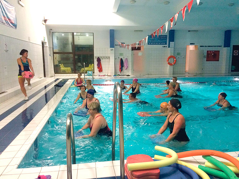 Pływanie i gimnastyka dla seniorów