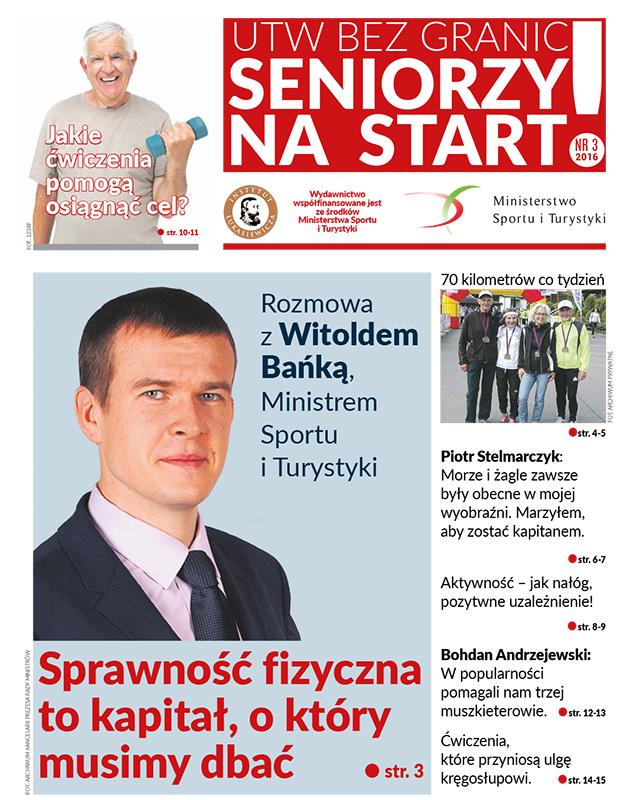 """Trzeci numer """"UTW BEZ GRANIC: seniorzy na start!"""" trafił do czytelników"""