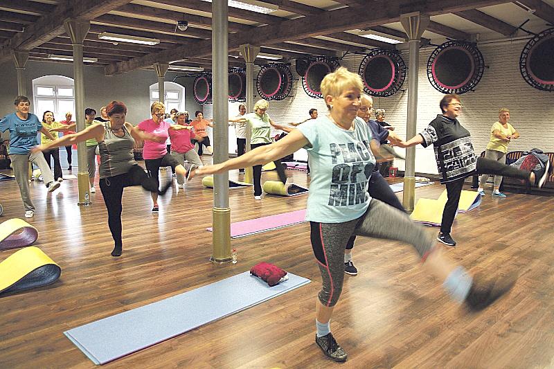 Lublin: gimnastyka dla seniora