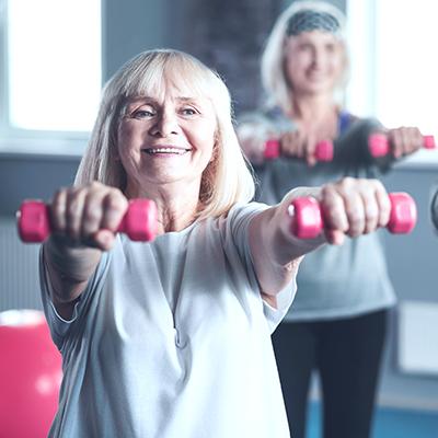 Na emeryturze odnalazłam się… na siłowni!