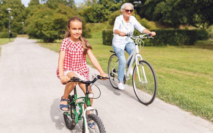 Wnuczęta – skuteczny motywator do aktywności ruchowej